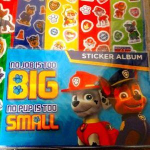 Paw patro Mega Sticker Set